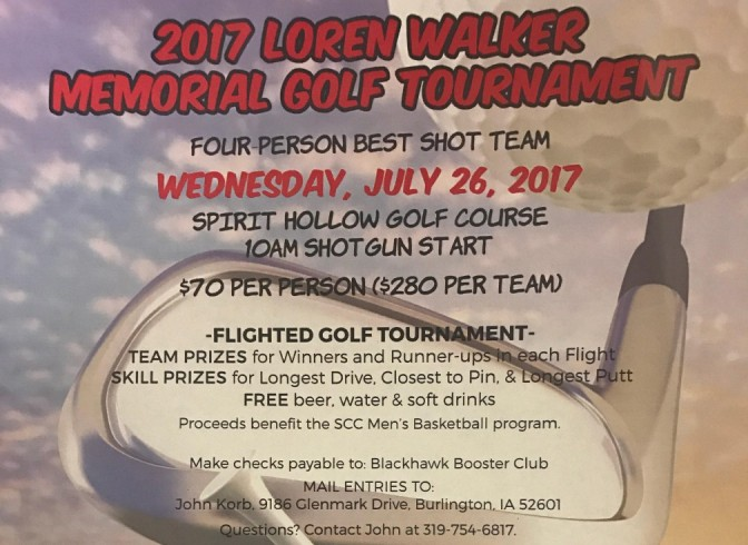 2017 Loren Walker Memorial Golf Tournament