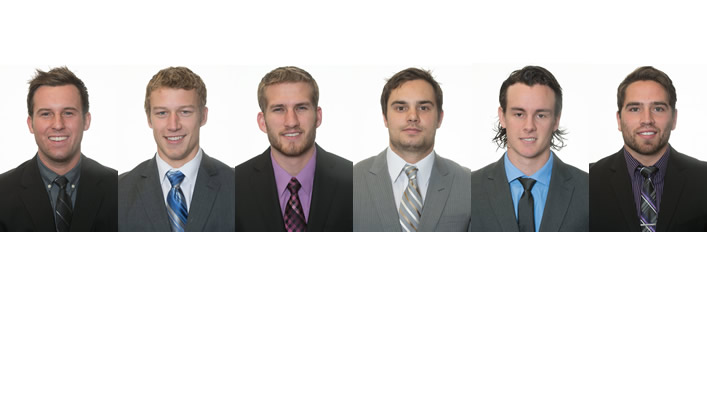 Six Blugold Men's Hockey Players Receive WIAC Honors