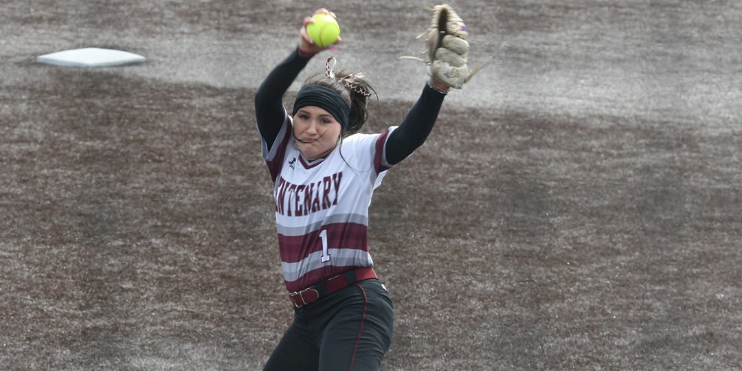 Scoggin Picks up Pair of Wins in Circle as Ladies Softball Takes Doubleheader at Trinity