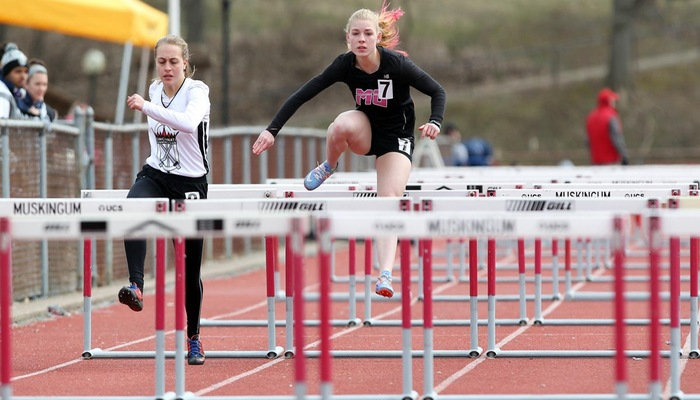 Women's Outdoor Track & Field place first at Muskingum Invitational