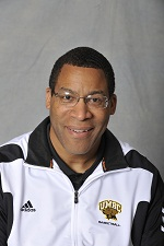 UMBC Head Basketball Coach Randy Monroe