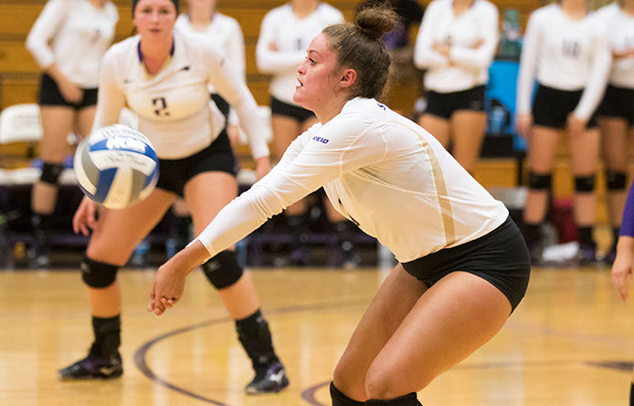 Women's Volleyball Wraps Play at Union Invitational with Two Losses