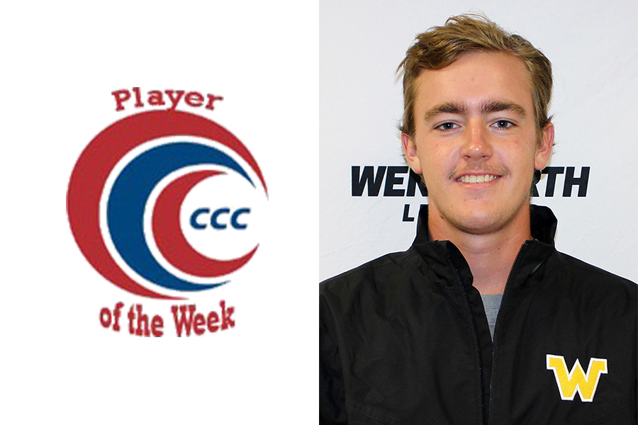 Howard Repeats as CCC Golfer of the Week