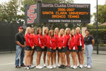 Women's Tennis Falls to LMU Fighting for Fifth Place