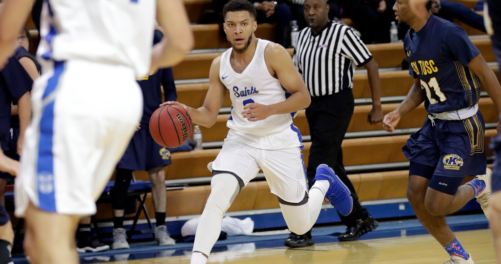 Men's Basketball Falls to ONU, 65-62, in Final Seconds