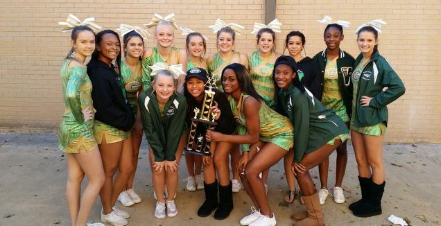 Ware County Competition Cheerleaders Capture Another First Place Trophy