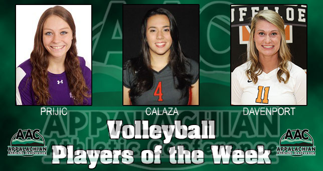 AAC Announces Volleyball Players of the Week
