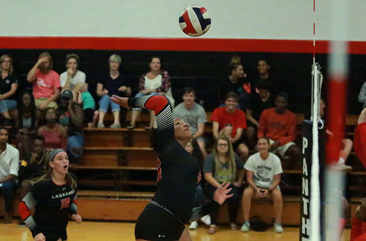 Volleyball: Panthers rally to beat Huntingdon in USA South match
