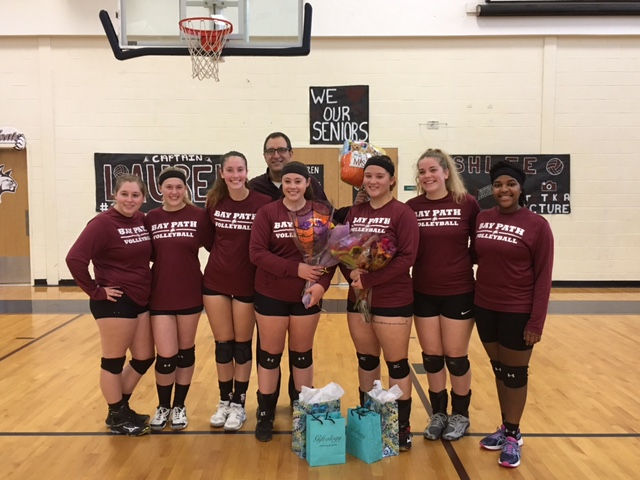 Wildcats Take Nighthawks in Volleyball Senior Day Action