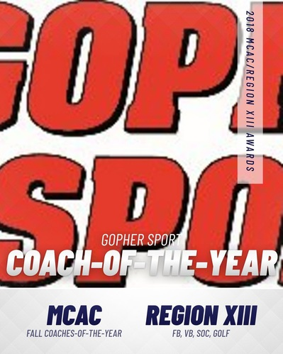 Gopher Sport presents MCAC Fall Sport Coach-of-the-Year Honors