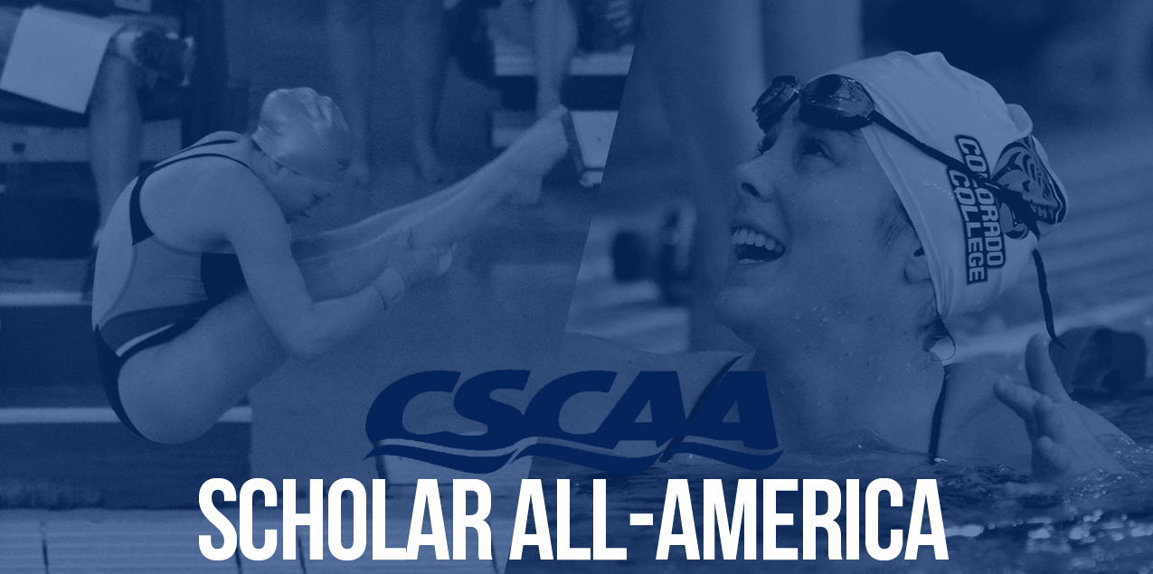 Colorado College; Trinity Swimmers & Divers Earn Scholar All-America Honors