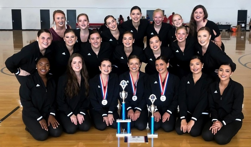 Dance Team Earn Gold Bid, Three All-Americans at NDA Camp