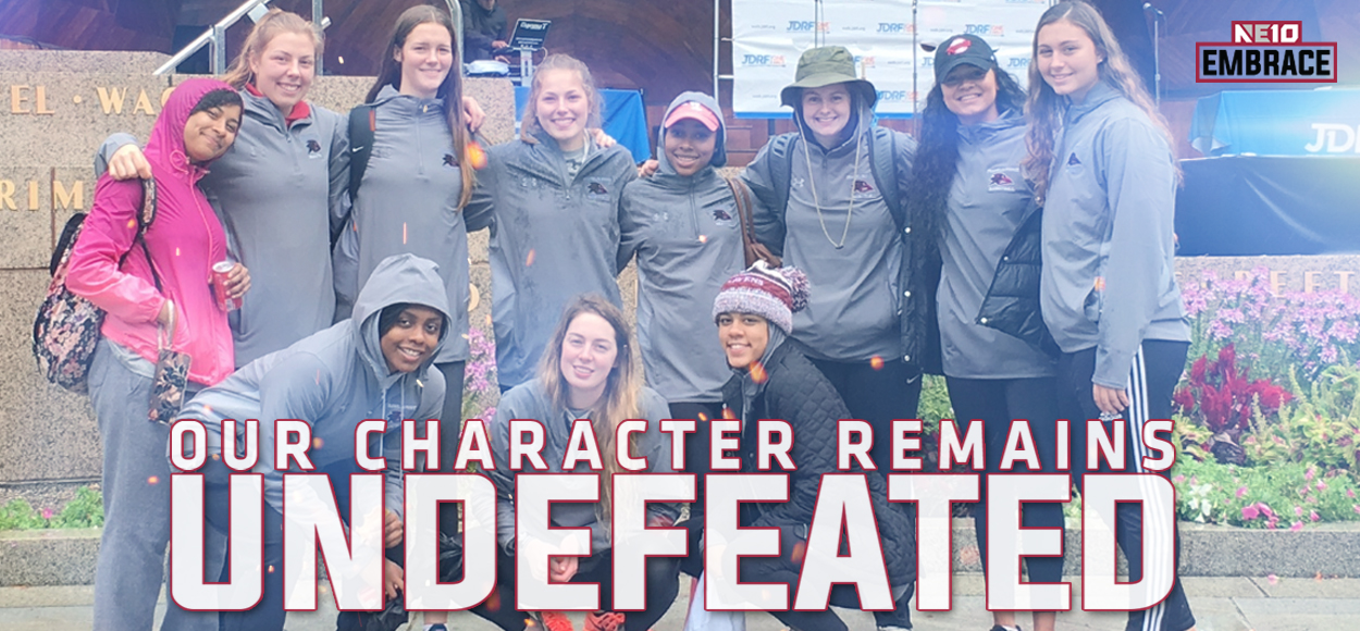 Embrace The Community: Franklin Pierce Women's Basketball Raises Money for Juvenile Diabetes Research Foundation