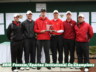 Ferris State ties for first place at 42nd annual Fossum/Spartan Invitational.  (Photo by Matthew Mitchell/MSU Athletic Communications)