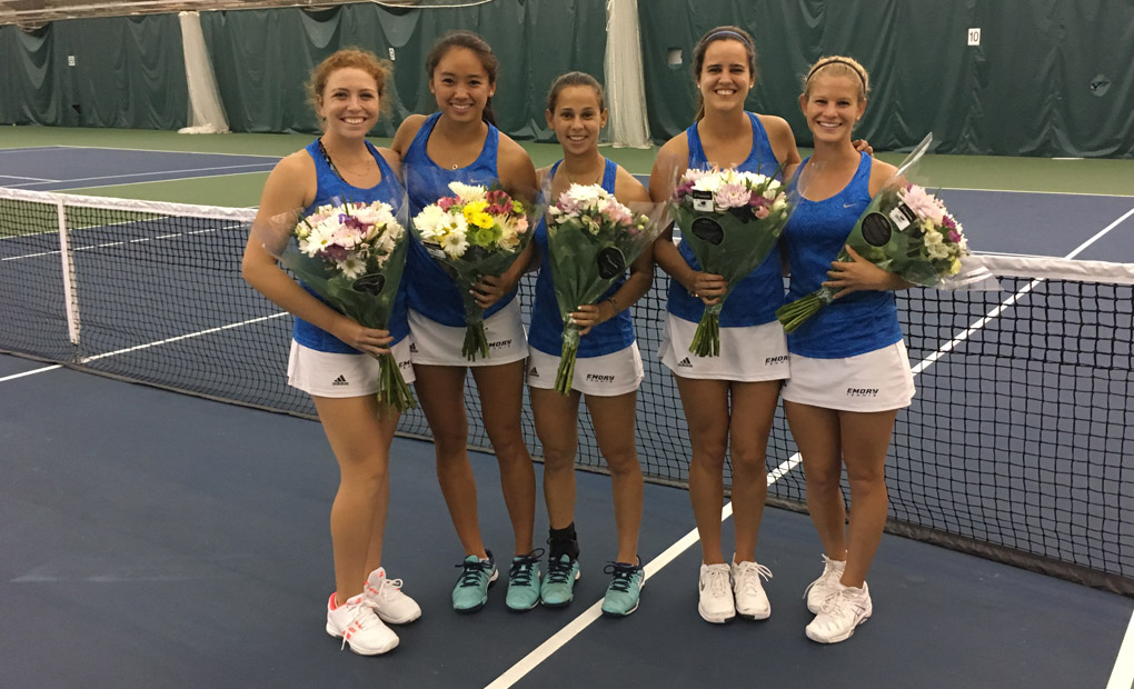 No.-1 Eagles Celebrate Senior Day with 8-1 Win over No.-13 Washington & Lee