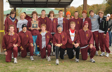 Men's cross country team earns All-Academic status; Jackson named to All-Academic Team