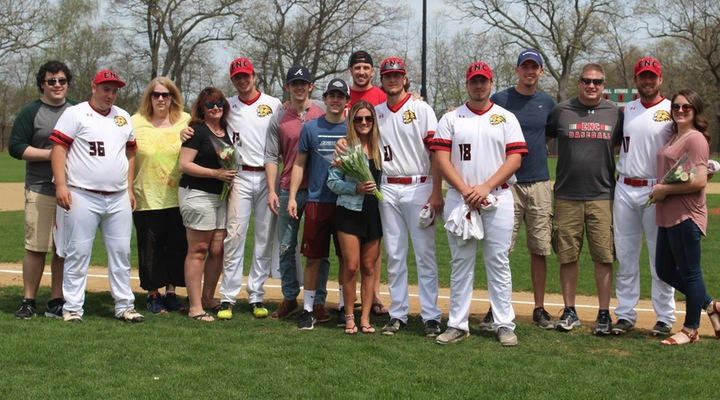 Baseball Drops Two-Game Series to Gordon on Senior Day