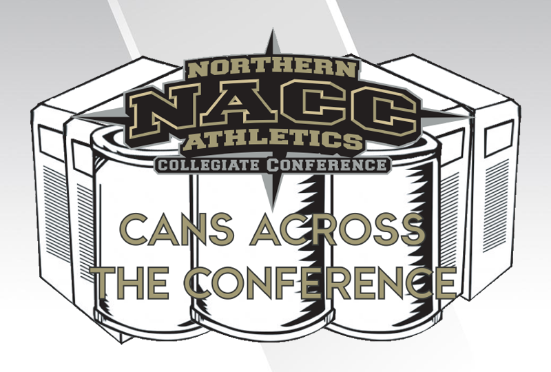 "NACC Schools Wrap Up 2018 Edition of ""Cans Across The Conference"""