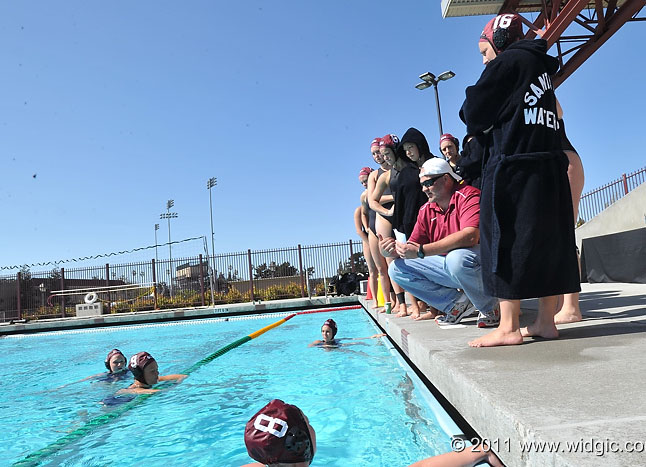 SCU Water Polo Preps for Tough, Physical Games in San Diego