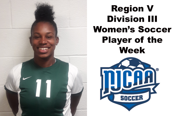Region V Division III Women's Soccer Player of the Week (Sept. 10-16)
