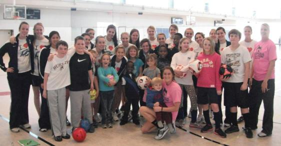 Bobcat Soccer Hosts Second Annual Valentine's Day Clinic