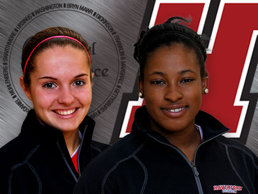 Meeks and Pizzuto earn all-conference recognition