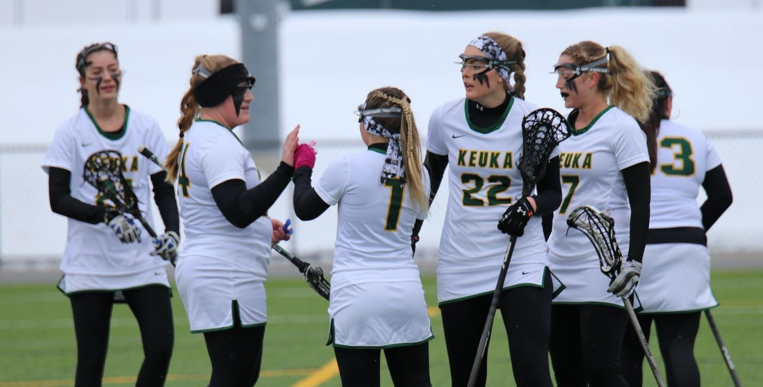 Three different players scored four goals each for Keuka in Saturday's victory