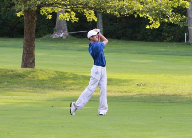 Adams Cup Final, Men's Golf Tied For 9th