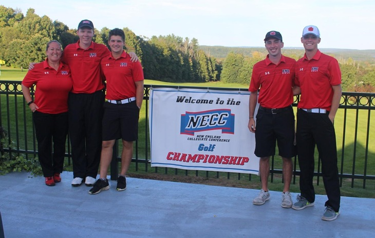 Men's Golf Finishes Fourth at NECC Championships; Waldroop Collects All-NECC Accolades