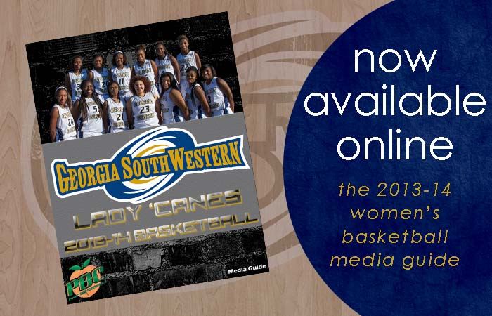 GSW Releases 2013-14 Women's Basketball Media Guide