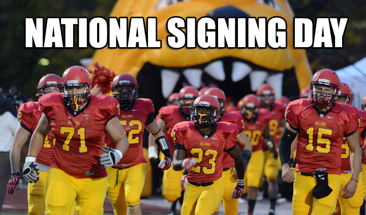 "NATIONAL SIGNING DAY: 2014 Ferris State Football ""Signing Day Central"""
