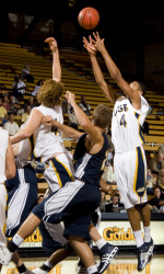 Bay Area Natives Return Home to Pace Gauchos Past Northwestern State in Basketball Travelers Classic at Stanford, 92-71