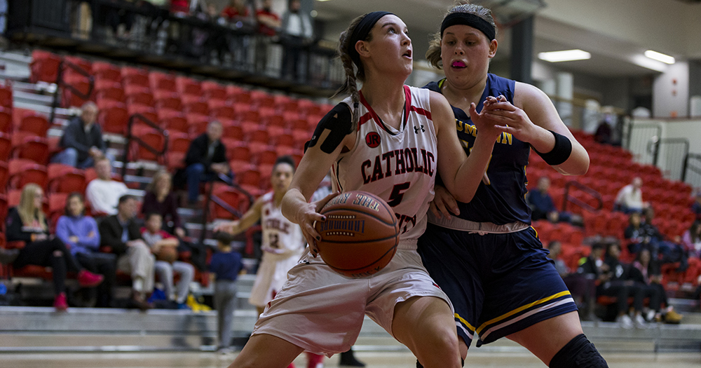 Catholic Edged in Overtime by No. 17 Juniata