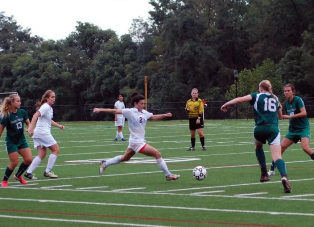 Schiltz Scores Twice in Guilford's 6-0 Win Over Sweet Briar