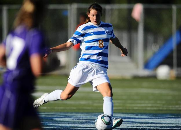 Freer's Late Goal Gets CCSU Even at Bryant