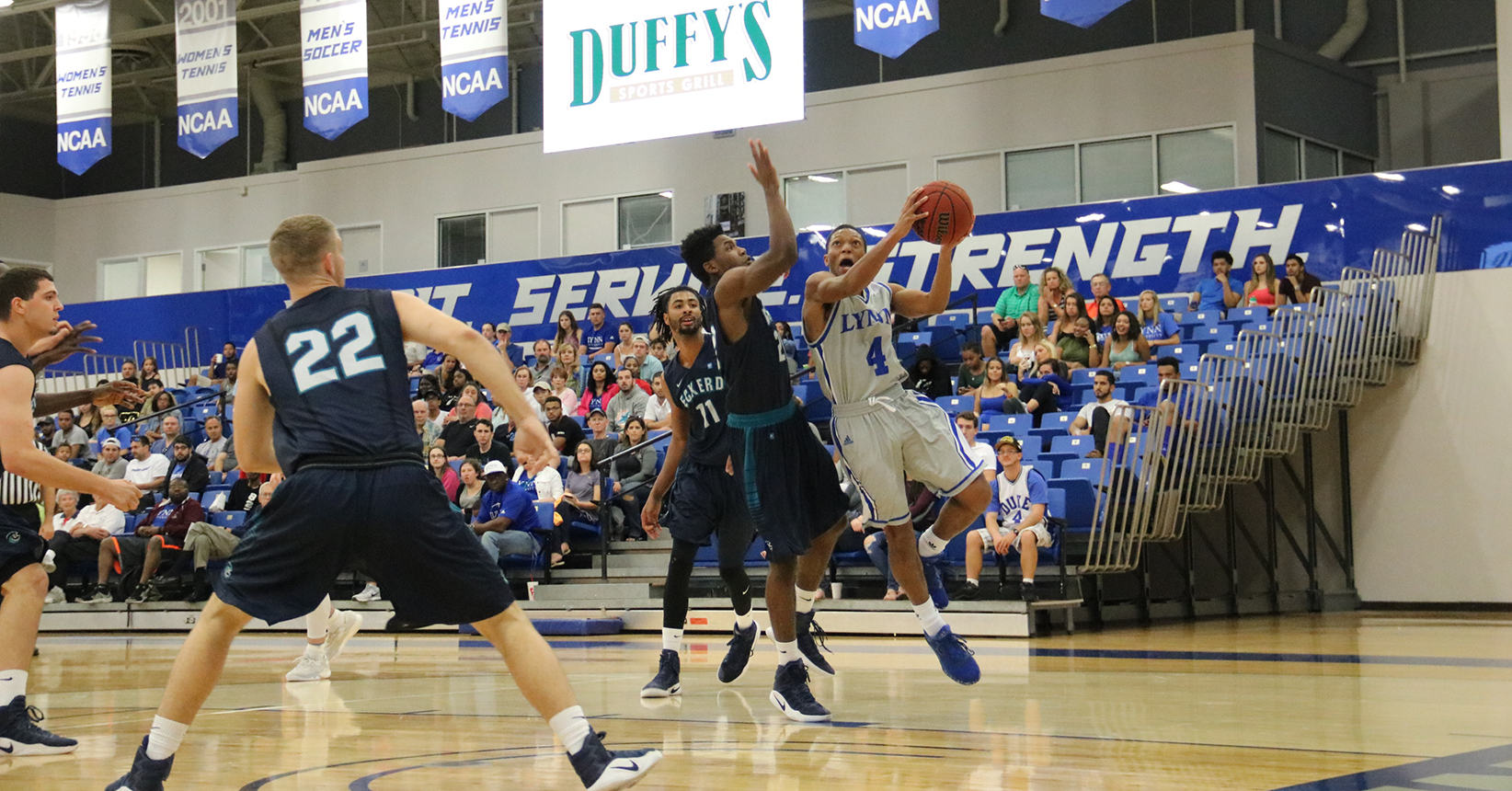 Men's Basketball Stifled by Eckerd
