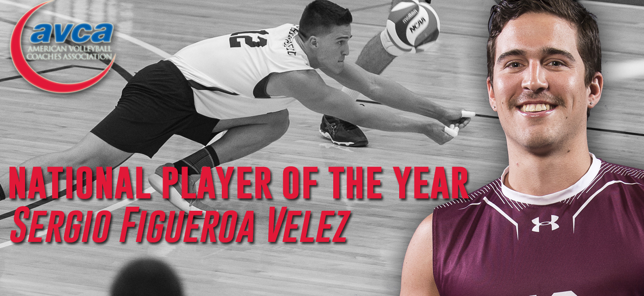 Figueroa Velez Named 2018 AVCA Men's Volleyball Division III National Player of the Year