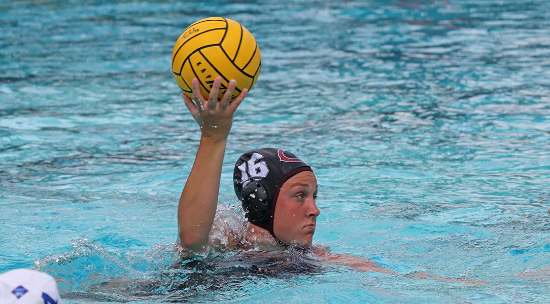 Ellie Peterson controls the ball.