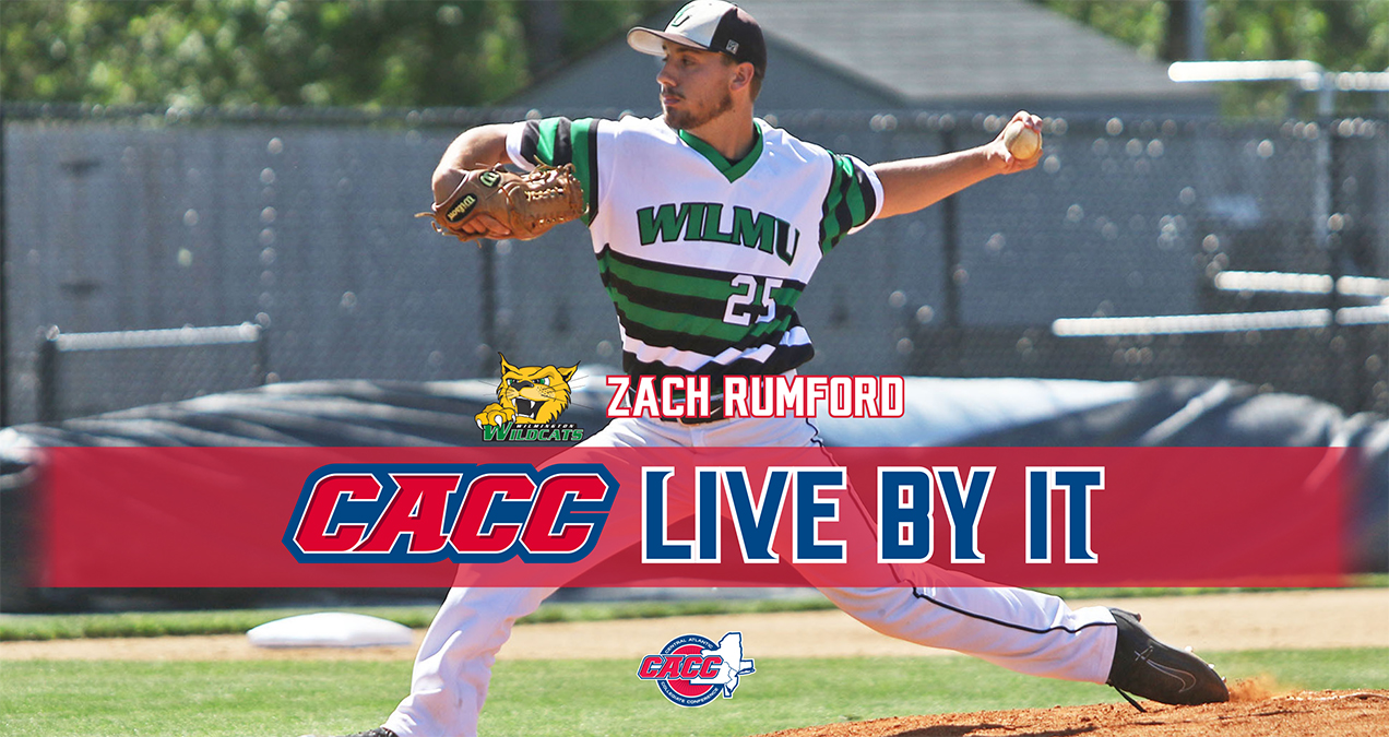 "CACC ""LIVE BY IT"": Wilmington University's Zach Rumford"
