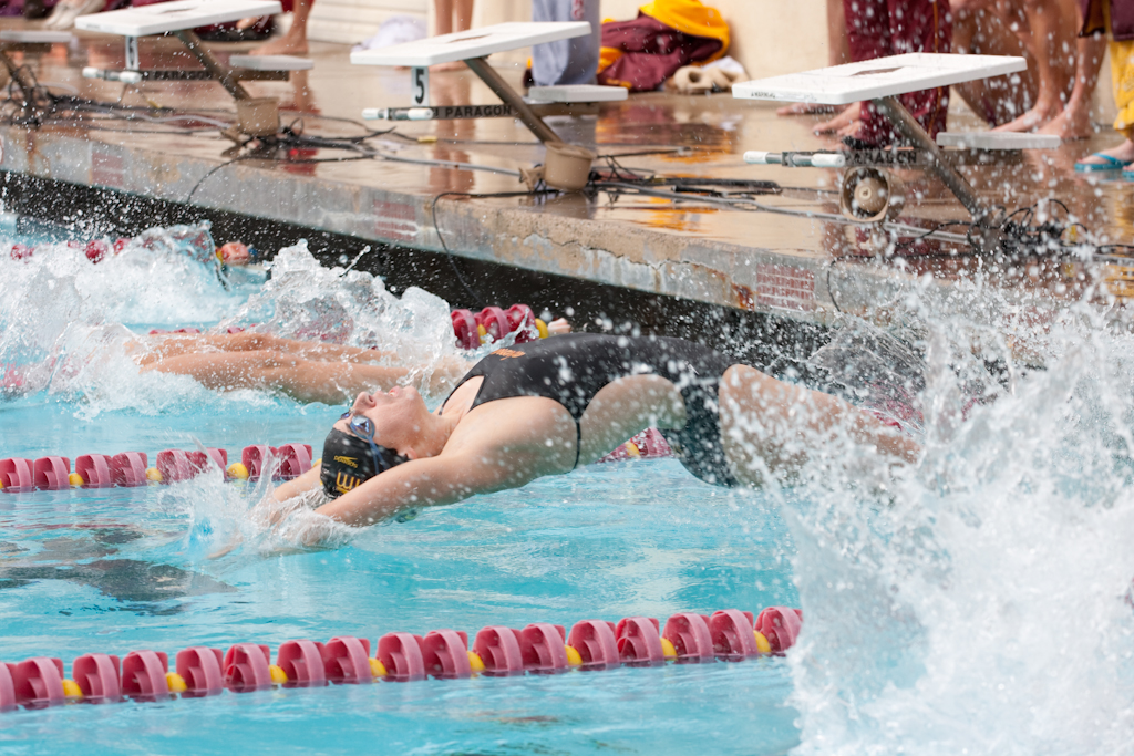 Athenas Finish SCIAC Dual Meets Undefeated