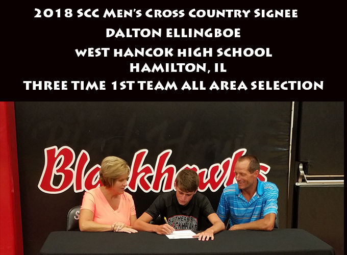 Men's Cross Country Signs West Hancock Standout