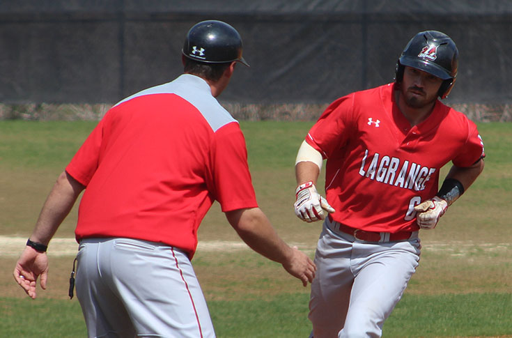 Baseball: No. 7 Panthers top Averett 5-2 to complete sweep of USA South series