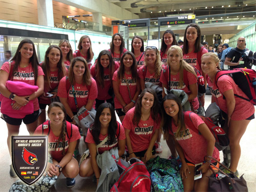 Women's Soccer Travels to Spain