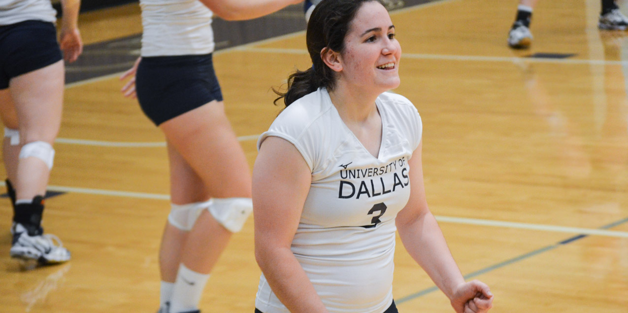 Allison Seager, University of Dallas, Volleyball