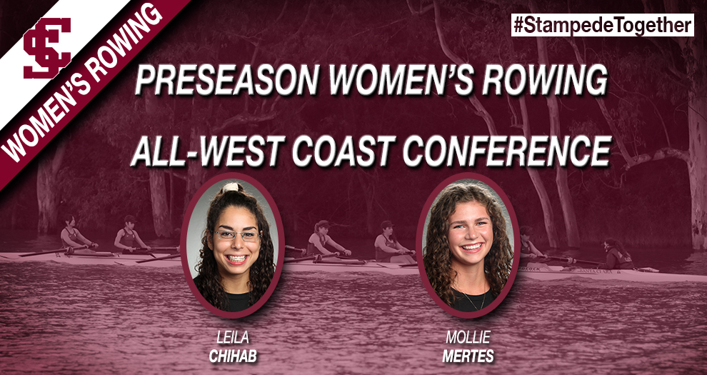 Two Women's Rowers Named Preseason All-WCC