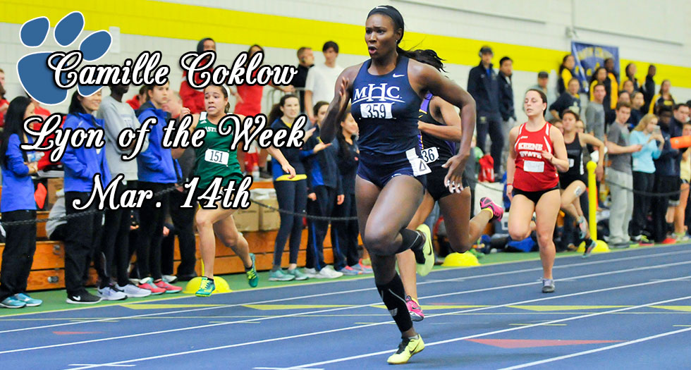Track & Field's Coklow Honored as the Lyon of the Week