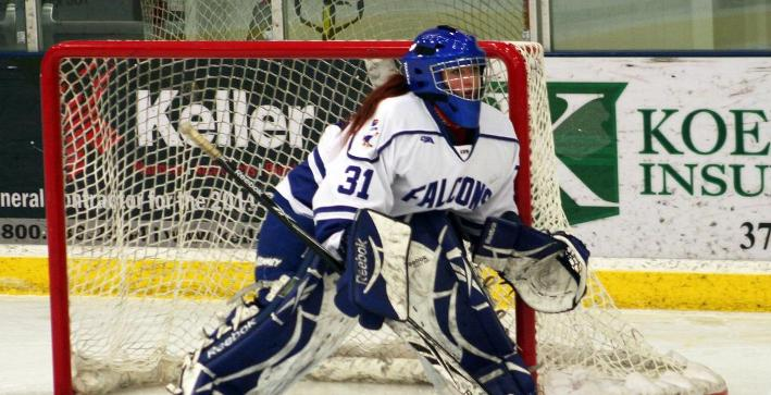 Muller's two goals power Women's Hockey to win over Finlandia