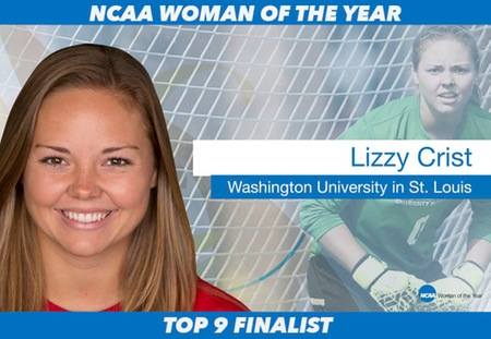 Washington University Graduate Lizzy Crist Named Top Nine Finalist for NCAA Woman of the Year