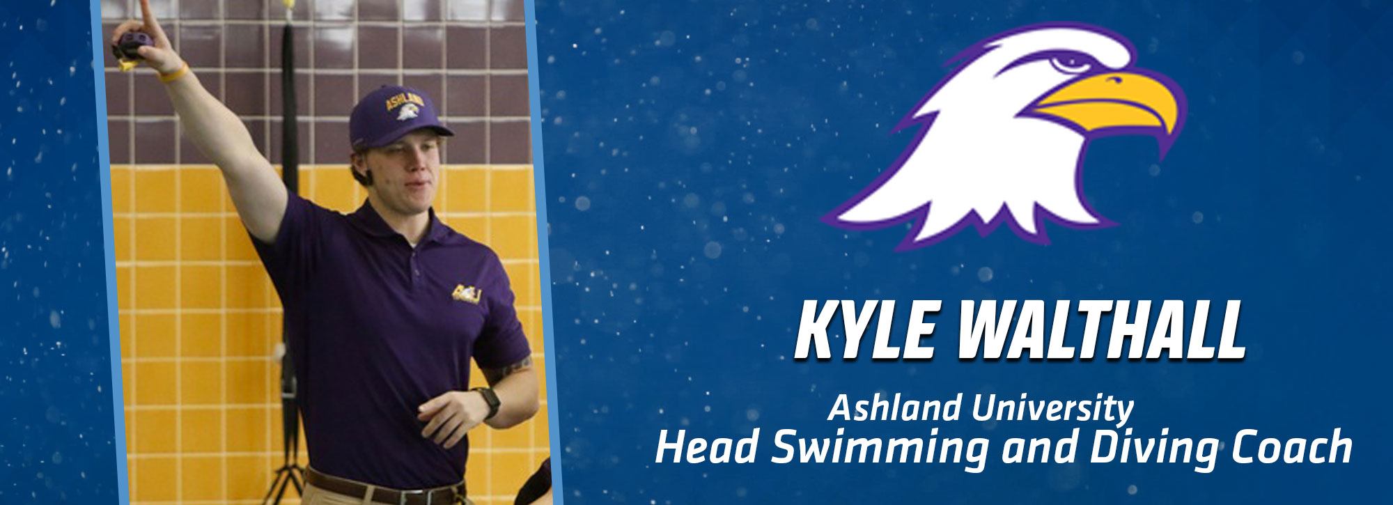 Ashland Promotes Walthall To Head Swimming & Diving Coach