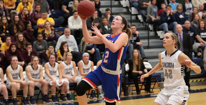 Concordia Nebraska too strong for Women's Basketball